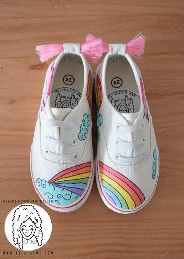 נעלי ילדים בעיצוב אישי