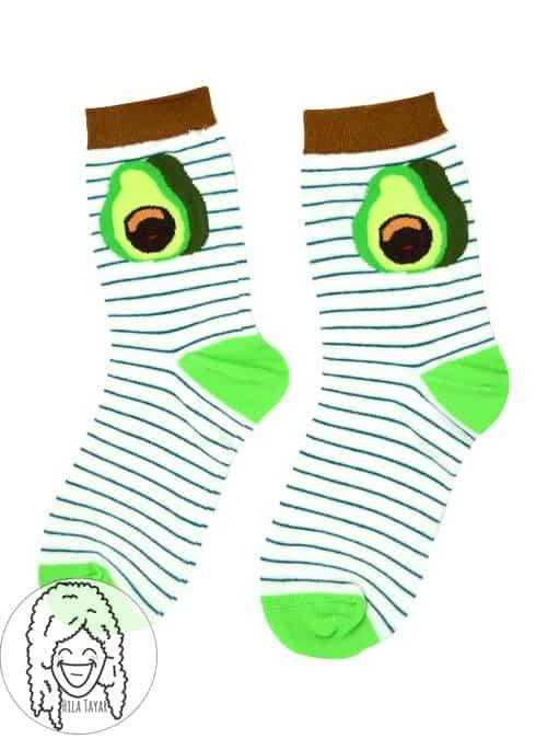 גרביים אבוקדו
