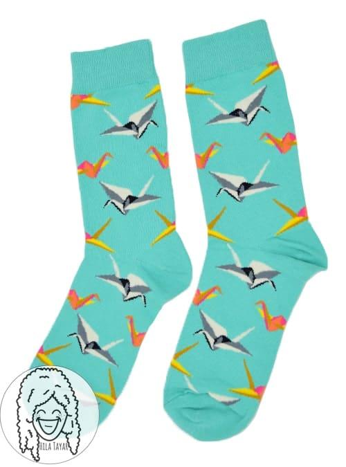 גרביים אוריגמי