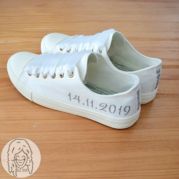 נעלי חתונה בעיצוב אישי