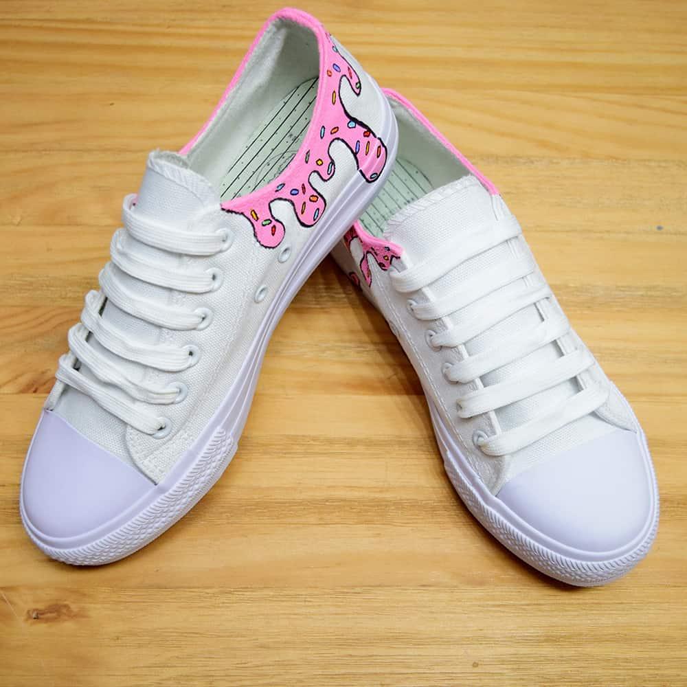 נעליים בעיצוב אישי נעליים נוזלות