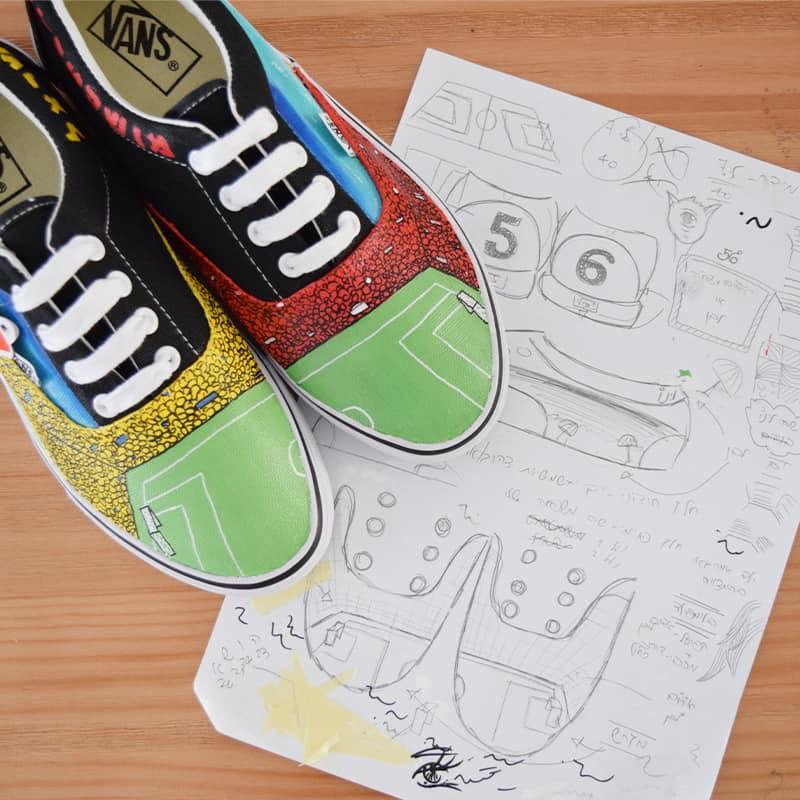 נעליים בעיצוב אישי נעלי כדורגל