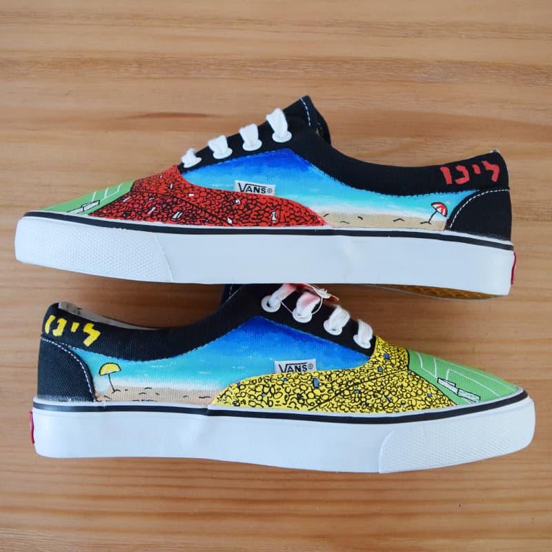 נעליים בעיצוב אישי נעלי חוף ים