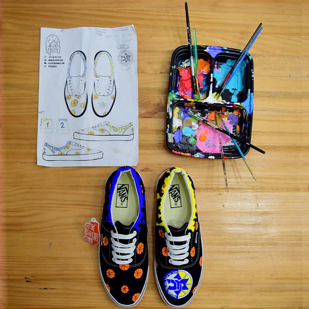 נעליים בעיצוב אישי כדורסל