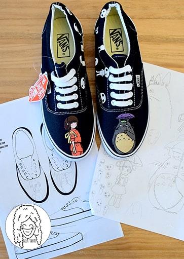 נעליים בעיצוב אישי נעלי סטודיו ג'יבלי
