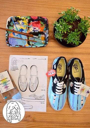 נעליים בעיצוב אישי נעלי שחיה