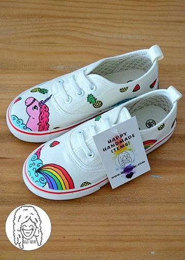 נעליים בעיצוב אישי נעלי יוניקורן
