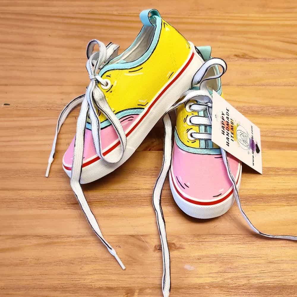 נעליים בעיצוב אישי נעלי קומיקס לילדים